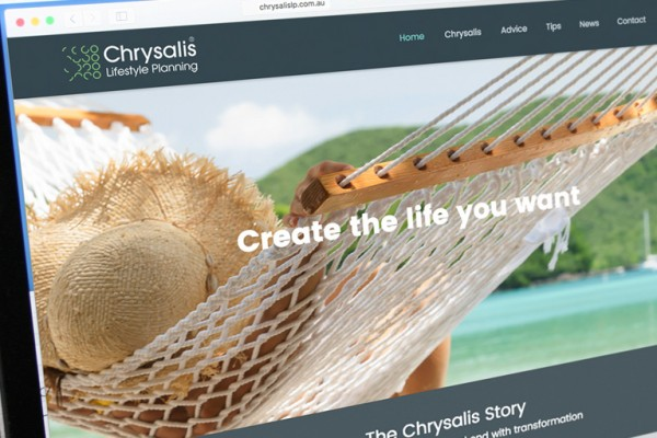 Chrysalis Lifestyle Planning Brand, Website & Videos
