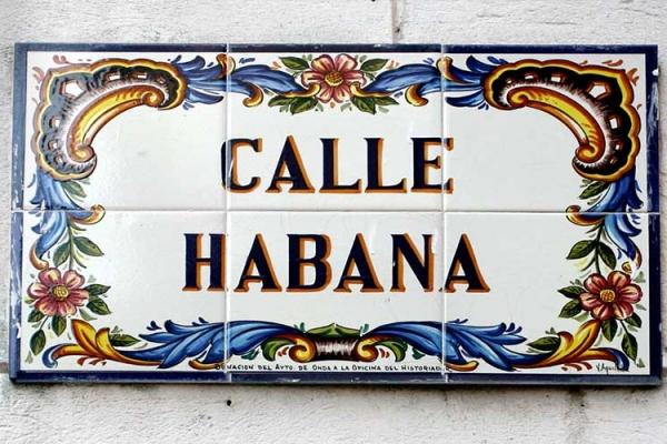 Calle Habana (Havana Street)