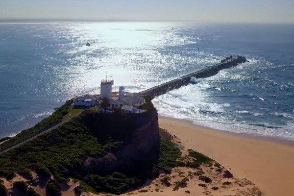 Drone Video: Nobby's Lighthouse